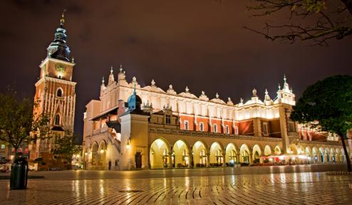 Varšuva - Krokuva - Veličkos